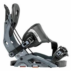 Pánské snowboardové vázání Flow Fuse Hybrid gunmetal, rychloupínací s fixací špičky boty