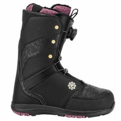 Dámské snowboardové boty Flow Onyx Coiler black s boa kolečkem