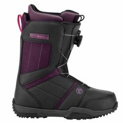 Dámské boty na snowboard s utahováním boa kolečkem Flow Maya charcoal