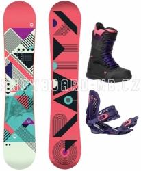 Dámský snowboardový komplet Gravity Electra 17/18