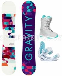 Dámský snowboardový komplet Gravity Sirene 17/18