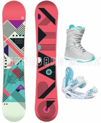 Dámský snowboard set Gravity Electra 17/18