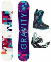 Dámský snowboardový set Gravity Sirene 17/18