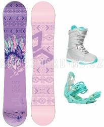 Dámský a dívčí snowboardový set Beany Spirit 17/18