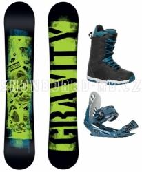 Chlapecký snowboardový set Gravity Flash (větší boty)