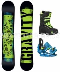 Dětský snowboardový komplet Gravity Flash 17/18