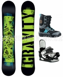 Levný dětský snowboard komplet Gravity Flash