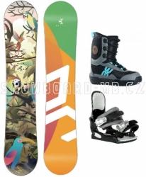 Dětský snowboardový komplet Beany Birdie