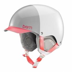 Dámská helma Bern Muse satin white hatstyle