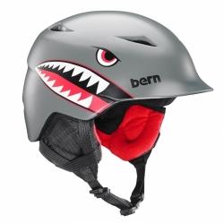 Chlapecká helma Bern Camino satin grey flying tiger