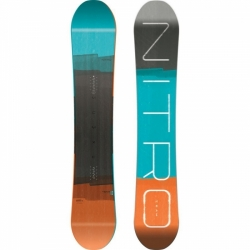 Snowboard Nitro Team wide gullwing