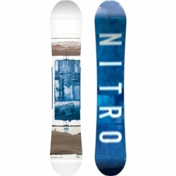Snowboard Nitro Team Exposure gullwing 155