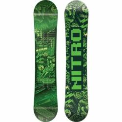 Dětský snowboard Nitro Ripper kids green 2017/18