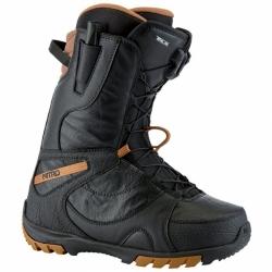 Dámské kvalitní a pevné snowboardové boty Nitro Cuda TLS black / černé