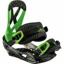 Dětské snowboardové vázání Nitro Mini Charger green / zelené