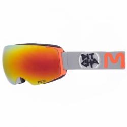 Brýle Pitcha Mango grey/orange/red mirrored