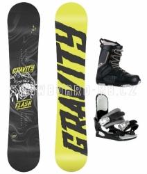 Dětský chlapecký snowboardový komplet Gravity Flash s botami Westige