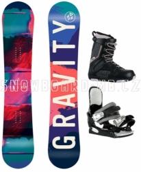 Dívčí juniorský snowboardový komplet Gravity Fairy s boatmi Westige
