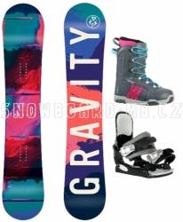 Dámský snowboard komplet Gravity Thunder 2018