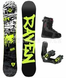 Snowboardový komplet Raven Core, snb set s botami