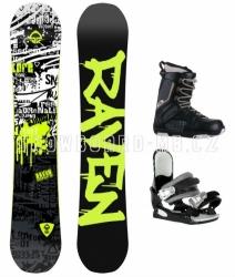 Chlapecký snowboard komplet Raven Core junior