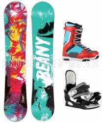 Univerzální snowboardový komplet Beany Action pro kluky i holky
