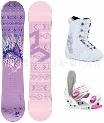 Dívčí snowboard komplety Beany Spirit, snowboardy pro dívky