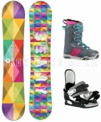 Dívčí a dámský snowboardový komplet Beany Spectre s botami Westige