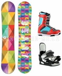 Juniorský snowboardový komplet Beany Spectre pro kluky i holky
