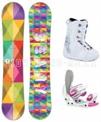 Dětský dívčí snowboardový set Beany Spectre pro malé i větší holky