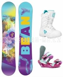 Dívčí snowboardové komplety s botami, snb Beany Meadow a boty Gravity
