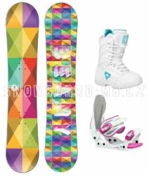 Dětský snowboardový komplet Beany Spectre, snb komplety pro malé dívky