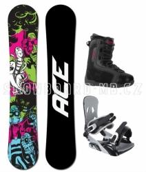 Snowboardový komplet Ace Monster s botami Beany