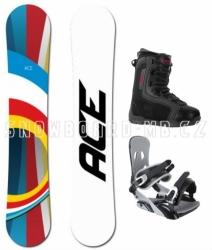 Snowboard komplet Ace B52 s botami Beany