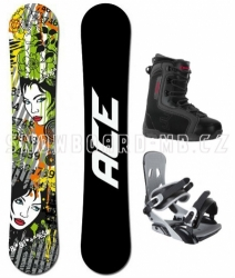 Univerzální snowboardový komplet Ace Vixen pro ženy i muže