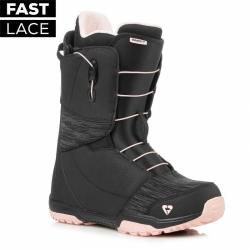 Dámské boty na snowboard Gravity Aura Fast Lace black/pink