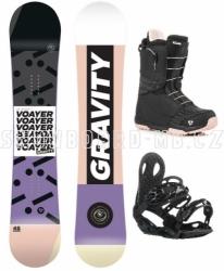 Dámský snowboardový komplet Gravity Voayer s rychlým utahováním bot