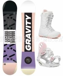 Dámský snowboardový set Gravity Voayer včetně bot
