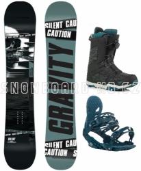 Snowboardový komplet Gravity Silent s rychloutahovacími botami