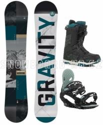 Snowboardový set Gravity Adventure s botami s rychloutahovacím kolečkem nebo šňůrkami