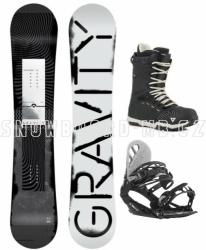 Snowboardový komplet Gravity Madball freestyle / allmountain