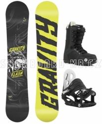 Dětský chlapecký snowboardový komplet Gravity Flash pro děti od 6 let