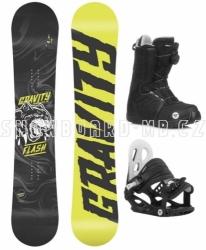 Dětský snowboardový set Gravity Flash s botami s kolečkem