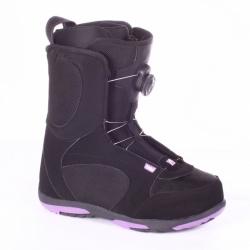 Dámské snowboardové boty Head Coral Boa purple černo-fialové s kolečkem