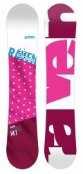 Dámský snowboard Raven Style pink