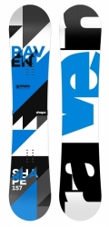 Snowboard Raven Shape black/blue/white