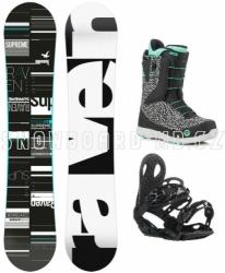 Dámský snowboardový set Raven Supreme (rychlostahovací boty)
