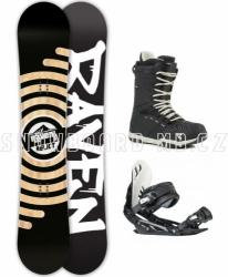 Snowboard komplet Raven Relict s vázáním a botami Gravity