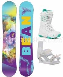 Dívčí snowboardový komplet Beany Meadow