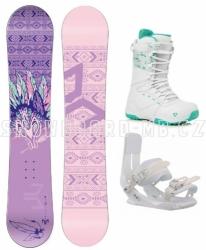 Dámský snowboard komplet Beany Spirit white